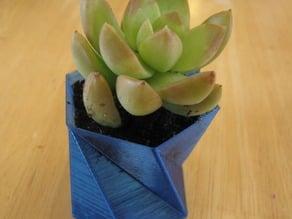 A hexagon vase (vase#1)