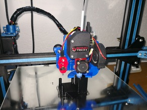 Cr-10 / S / Mini: Support direct-drive with extruder Bondtech, Hotend AIO EVO, sensor TouchMi, Neyma pancake, fan radial 5015