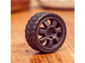 Rim for the standard Arduino wheels