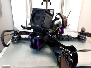 GoPro H5S mounts for the MQC Fusion