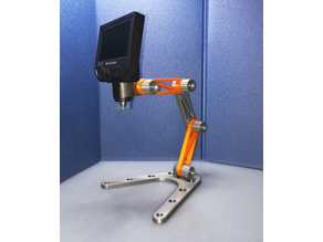 Modular stand for electronic microscope