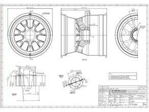 Formula 1 BBS Wheel