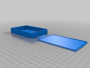 Caja con tapa 70x150x15