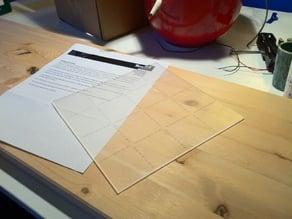 Origami Template - 8 Inch Square