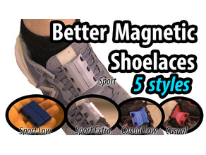 Better Magnetic Shoelaces