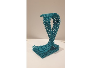 Headphone Stand (voronoi)