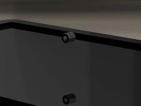 VESA mount spacer