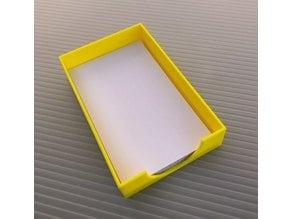 3x5 Card Tray