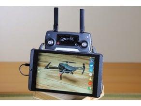 Low Profile DJI Mavic Controller to Tablet Adapter