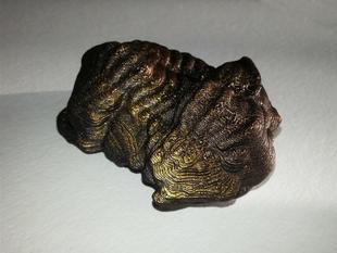 Trilobite model printed from 3D scan