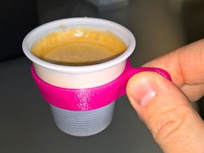 Espresso cup holder