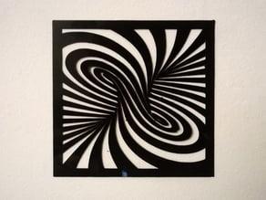 3D Printed twirl