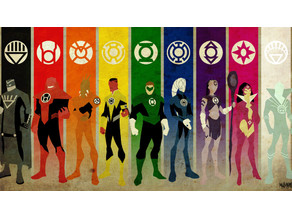 Lantern Corps ( ALL Corps LOGO's)