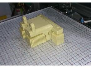 e3d V5 mount for 3drag k8200