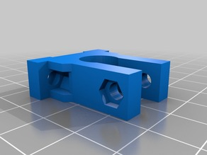 Opto Endstop Mount (for 10mm Rod)