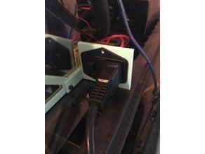 I3 Ramps Mount Power switch/plug holder