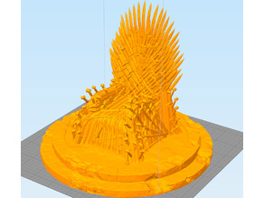 Iron Throne with another base