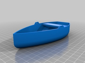 Miniature Row Boat
