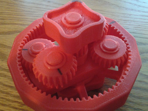 Compound Planetary Gears