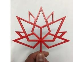 Canada 150 Logo Wireframe