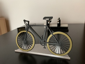 Bonvelo bicycle with stand
