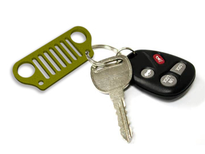 Jeep keychain