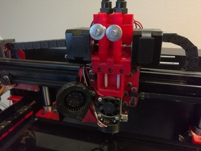 Direct Drive Chimera extruder for D-Bot Core XY Printer