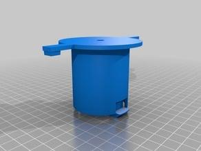 Spool Hub for spooling XYZ Da Vinci cartridges