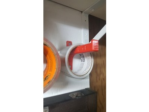 RUGGED wall mount tape holder
