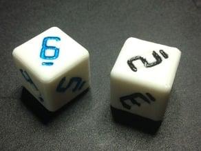 7-segment die/dice