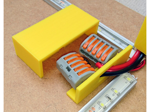 Slide-off Junction Box Cover for Wago 222/221 Terminal Connectors