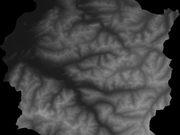 Heightmap To STL By Mfussi Thingiverse - Grayscale height map us