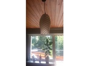 Twisted Vase Lampshade