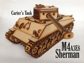 Lasercut Sherman - no screw