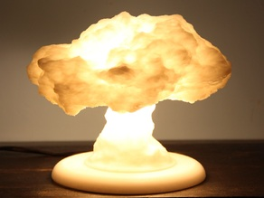 Nuke Lamp with stand (lamp base)