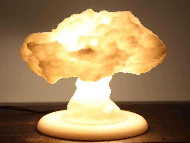Nuke Lamp With Stand Lamp Base By Protonik Thingiverse