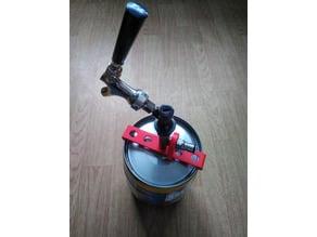Mini-keg adapter.