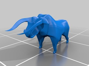 Polygonified Toro