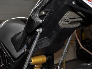 Motorcycle Undertail- custom fit Ducati Monster tail to Suzuki sv650