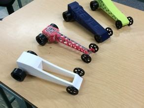 3D Printed CO2 Car Project