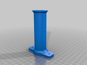 spool bracket / holder for Kossel / 2020 Al profile