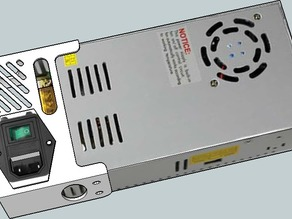 LED Style Power Supply Cover