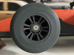 OPENRC F1 - PLA Tyres - Combined rim & tyre (aka tire)