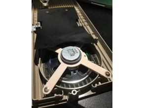 Commodore 1702 monitor speaker adaptor
