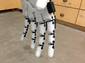 Flexible joints for InMoov's fingers