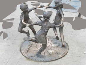 "Sculptural composition ""Childhood"""