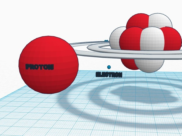 Carbon Bohr Model By Cbrendel Thingiverse