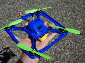 Wolfbone 225mm race quadcopter frame