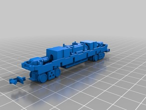 Tomytec TM-20 N scale chassis