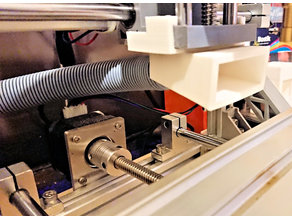 Simple CNC fume extractor for LASER cutting